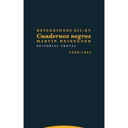 Libro.REFLEXIONES XII - XV. CUADERNOS NEGROS