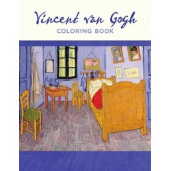Libro de colorear. Vincent van Gogh Coloring Book