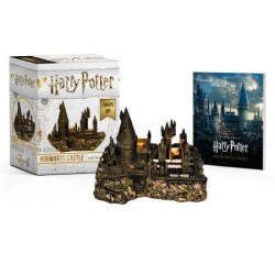 Libro. HARRY POTTER HOGWARTS CASTLE AND STICKER BOOK - LIGHTS UP