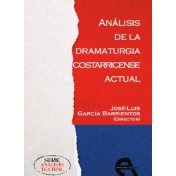 Libro. ANALISIS DE LA DRAMATURGIA COSTARRICENSE ACTUAL