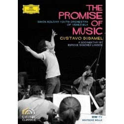 DVD. GUSTAVO DUDAMEL. THE PROMISE OF MUSIC