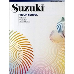Libro. SUZUKI VIOLIN SCHOOL VOL. 4
