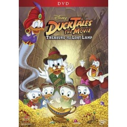 DVD. DUCKTALES THE MOVIE - TREASURE OF THE LOST LAMP