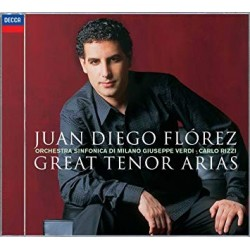 CD. JUAN DIEGO FLÓREZ. Great tenor arias