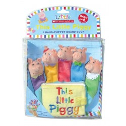 Libro títere. THIS LITTLE PIGGY - A HAND-PUPPET BOARD BOOK