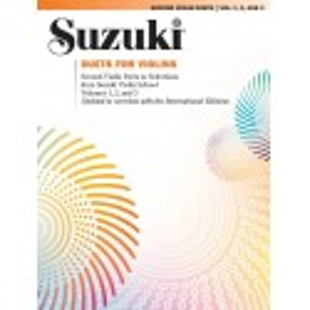 Libro. SUZUKI DUETS FOR VIOLINS