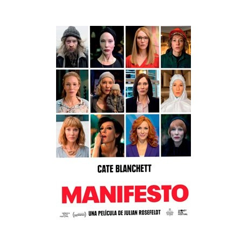 DVD. MANIFESTO