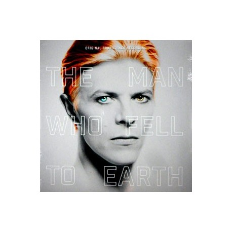 VINILO. THE MAN WHO FELL TO EARTH