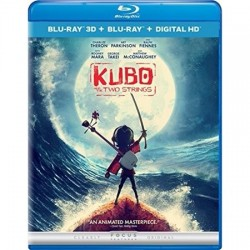 Blu-ray 3D + Blu-ray. KUBO AND THE TWO STRINGS