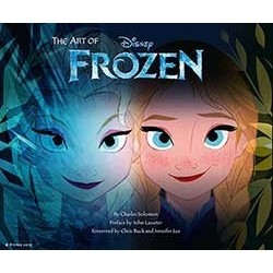 Libro. The art of FROZEN