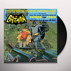VINILO LP. BATMAN - Exclusive Original Television Soundtrack Album