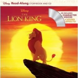 Libro. THE LION KING - Read-Along Storybook and CD