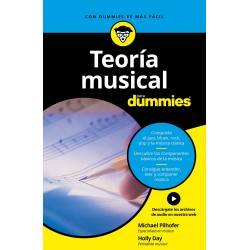 Libro. TEORÍA MUSICAL PARA DUMMIES