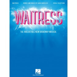 Partitura. WAITRESS -The Irresistible New Broadway Musical