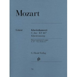 Partitura. CONCERTO FOR PIANO AND ORCHESTRA C MAJOR K.467 - 2 Pianos, 4 Hands