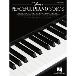 Partitura. DISNEY PEACEFUL PIANO SOLOS