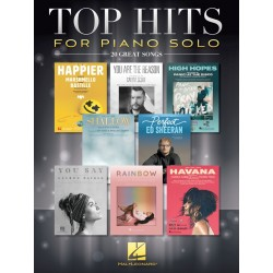Partitura. TOP HITS FOR PIANO SOLO