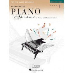 Libro. ACCELERATED PIANO ADVENTURES FOR THE OLDER BEGINNER Lesson Book 1