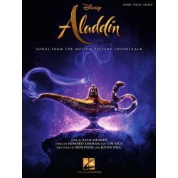 Partitura. ALADDIN -Songs from the 2019 Motion Picture Soundtrack