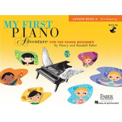 Libro. MY FIRST PIANO ADVENTURE Lesson Book A with CD