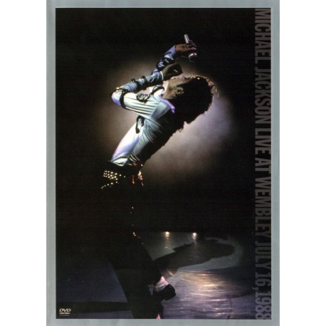 DVD. Michael Jackson. LIVE AT WEMBLEY, JULY 16 1988