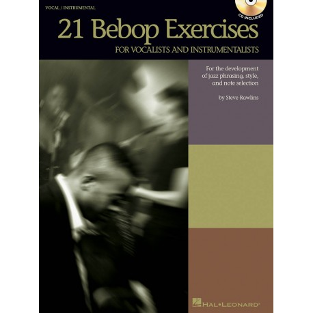 Partitura. 21 BEBOP EXERCISES - For Vocalists and Instrumentalists