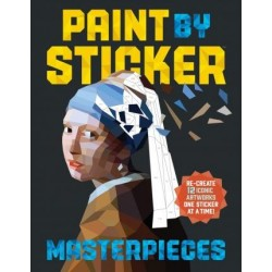 PAINT BY STICKER. MASTERPIECES