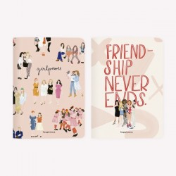 Libretas x2 - Amigas Girl Power