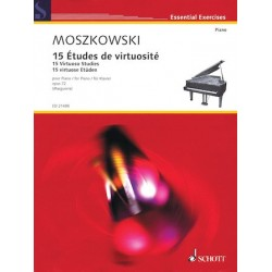 Partitura.15 VIRTUOSO STUDIES, OP. 72 Piano