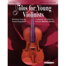 Libro. SOLOS FOR YOUNG VIOLINISTS - VOLUME 2