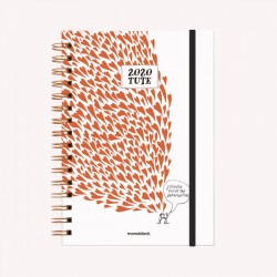 Agenda 2020. Tute Amor - A5 semana a la vista