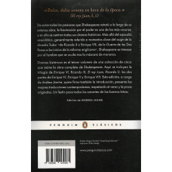 Libro. DRAMAS HISTÓRICOS - OBRA COMPLETA 3 - WILLIAM SHAKESPEARE