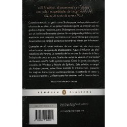 COMEDIAS - OBRA COMPLETA I - WILLIAM SHAKESPEARE