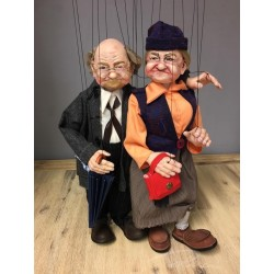 Marionetas de hilo. JOE & FAN