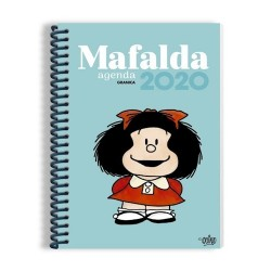 Agenda. MAFALDA 2020 Anillada azul