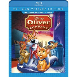 Blu-ray + DVD. OLIVER AND COMPANY