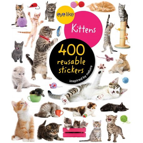 Libro. EYELIKE STICKERS: KITTENS