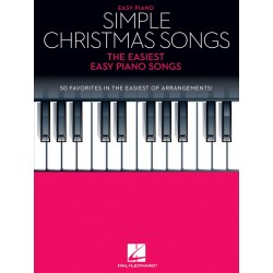 Partitura. SIMPLE CHRISTMAS SONGS - The Easiest Easy Piano Songs