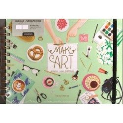 MAKE ART. DIBUJO SCRAPBOOK