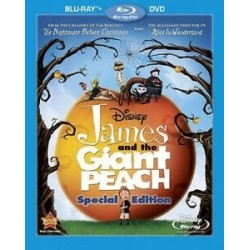 Blu-ray. JAMES AND THE GIANT PEACH. Special edition
