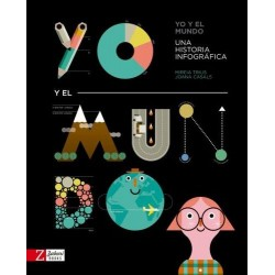 Libro. YO Y EL MUNDO. Una historia infográfica