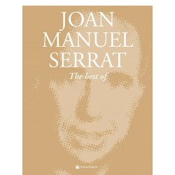 Libro. JOAN MANUEL SERRAT - THE BEST OF