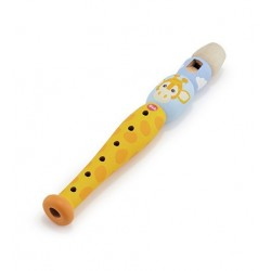 Instrumento musical. FLAUTA DE MADERA