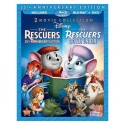 Blu-ray + DVD. THE RESCUERS - THE RESCUERS DOWN UNDER