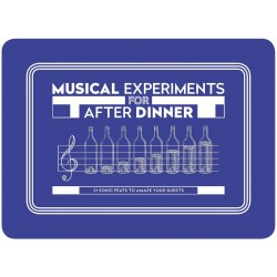 Tarjetas. MUSICAL EXPERIMENTS FOR AFTER DINNER