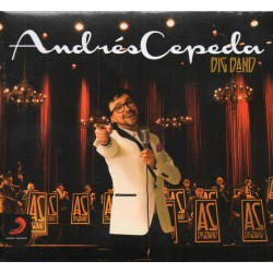 CD. ANDRÉS CEPEDA. Big Band