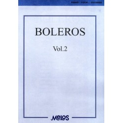 Partitura. BOLEROS VOL. 2 - PIANO - VOCAL - GUITARRA