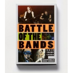 Cartas. BATTLE OF THE BANDS. Rock Trump Cards