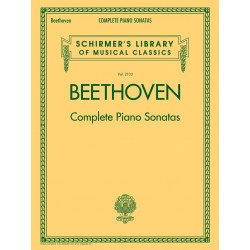 Partitura. BEETHOVEN - COMPLETE PIANO SONATAS