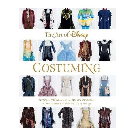 Libro. The art of DISNEY COSTUMING